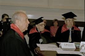 Academic dress worn for special ceremonies