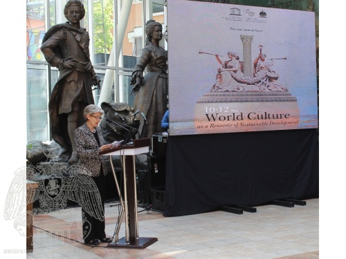 "UNESCO Director-General Irina Bokova Took Part in the Opening of the  International Forum ""World Culture as a Resource for Sustainable Development"""