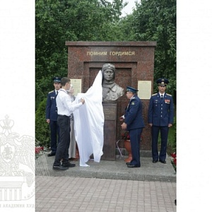 Inauguration of the Monument to the Military Pilot, Hero of the Russian Federation Alexander Maslov