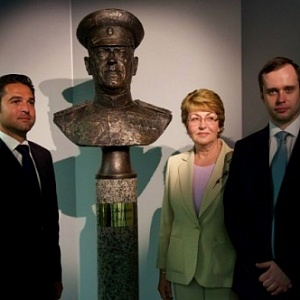 In France Was Unveiled a Monument to Marshal George Zhukov