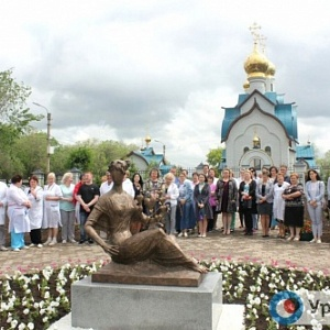 "Unveiling of the ""Mercy"" Sculpture by Zurab Tsereteli in Orenburg"