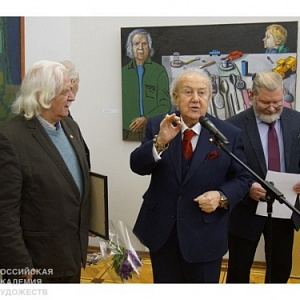 JUBILEE EXHIBITION OF THE HONORED ARTIST OF RUSSIA VASILY BUBNOV